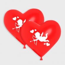 Rode Cupido ballonnen