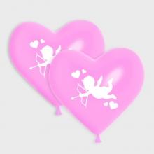 Roze Cupido ballonnen