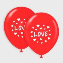 Rode Love ballonnen